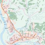 Карта города Салехард