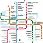 Карта метрополитена г. Санкт-Петербург