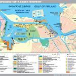 Карта-схема порта г. Санкт-Петербург