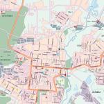 Карта города Саранск