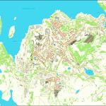 Карта города Североморск