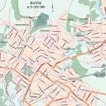 Карта города Шахты