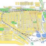Карта города Соль-Илецк