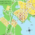 Карта города Сортавала
