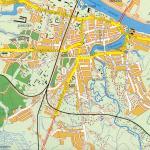 Карта города Советск