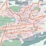 Карта города Ставрополь