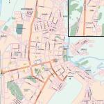 Карта города Сыктывкар