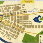 Карта города Темрюк