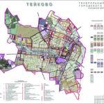 Карта города Тейково