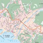 Карта города Туапсе