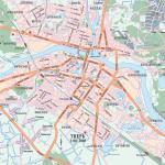 Карта города Тверь