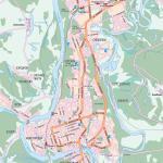 Карта города Уфа