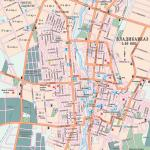 Карта города Владикавказ