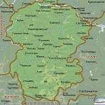 Карта Чувашия