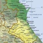 Карта Дагестан
