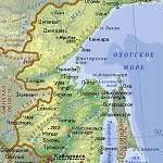 Карта Хабаровский край