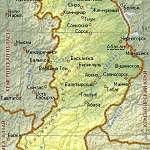 Карта Хакасия