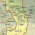Карта Ингушетия