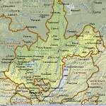 Карта Иркутская обл