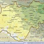 Карта Кабардино-Балкария