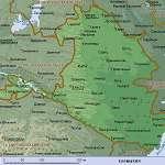 Карта Калмыкия