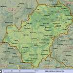 Карта Калужская обл
