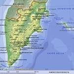 Карта Камчатский край