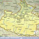 Карта Карачаево-Черкесия