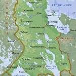 Карта Карелия