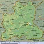 Карта Липецкая обл