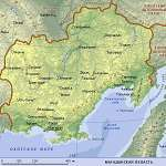 Карта Магаданская обл