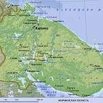 Карта Мурманская обл