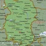 Карта Омская обл