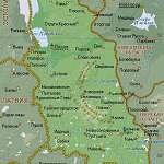 Карта Псковская область