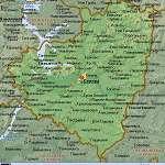 Карта Самарская обл