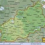 Карта Тверская обл