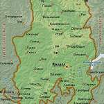 Карта Удмуртия