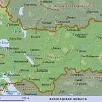 Карта Вологодская обл