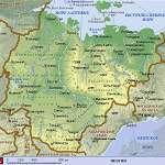 Карта Якутия