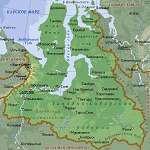 Карта Ямало-Ненецкий АО