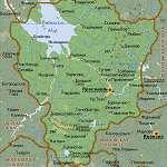 Карта Ярославская обл
