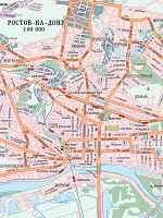 Карта г. Ростов-на-Дону