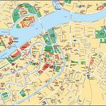 Карта города Санкт Петербурга