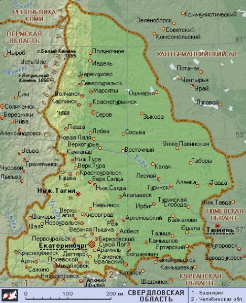 фото брянской области на карте